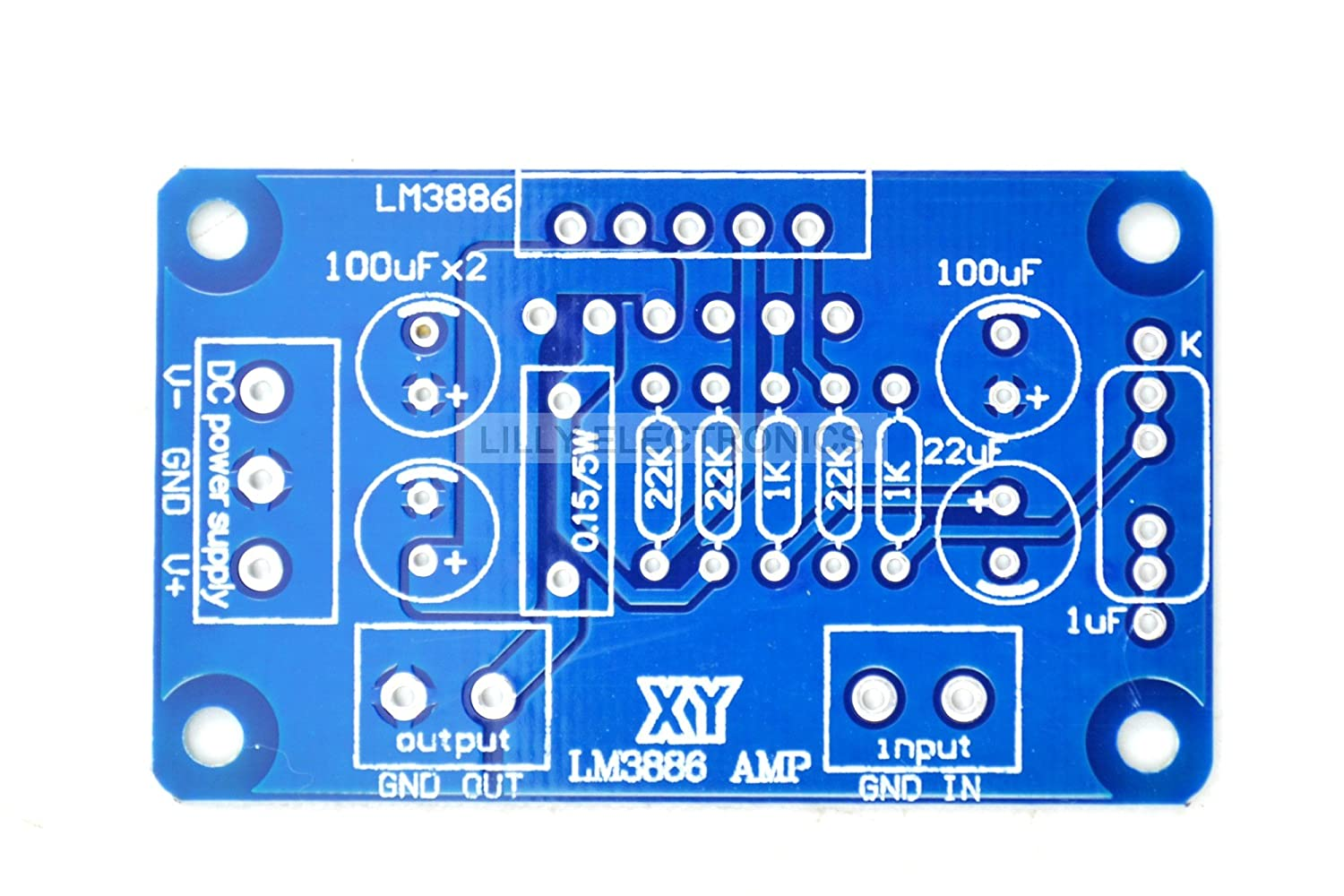 Q Baihe Lm3886tf Lm3886 Amplifier Amp Ne5532 Diy Kit High Performance Audio Power Components 1channel 60w Computers Accessories