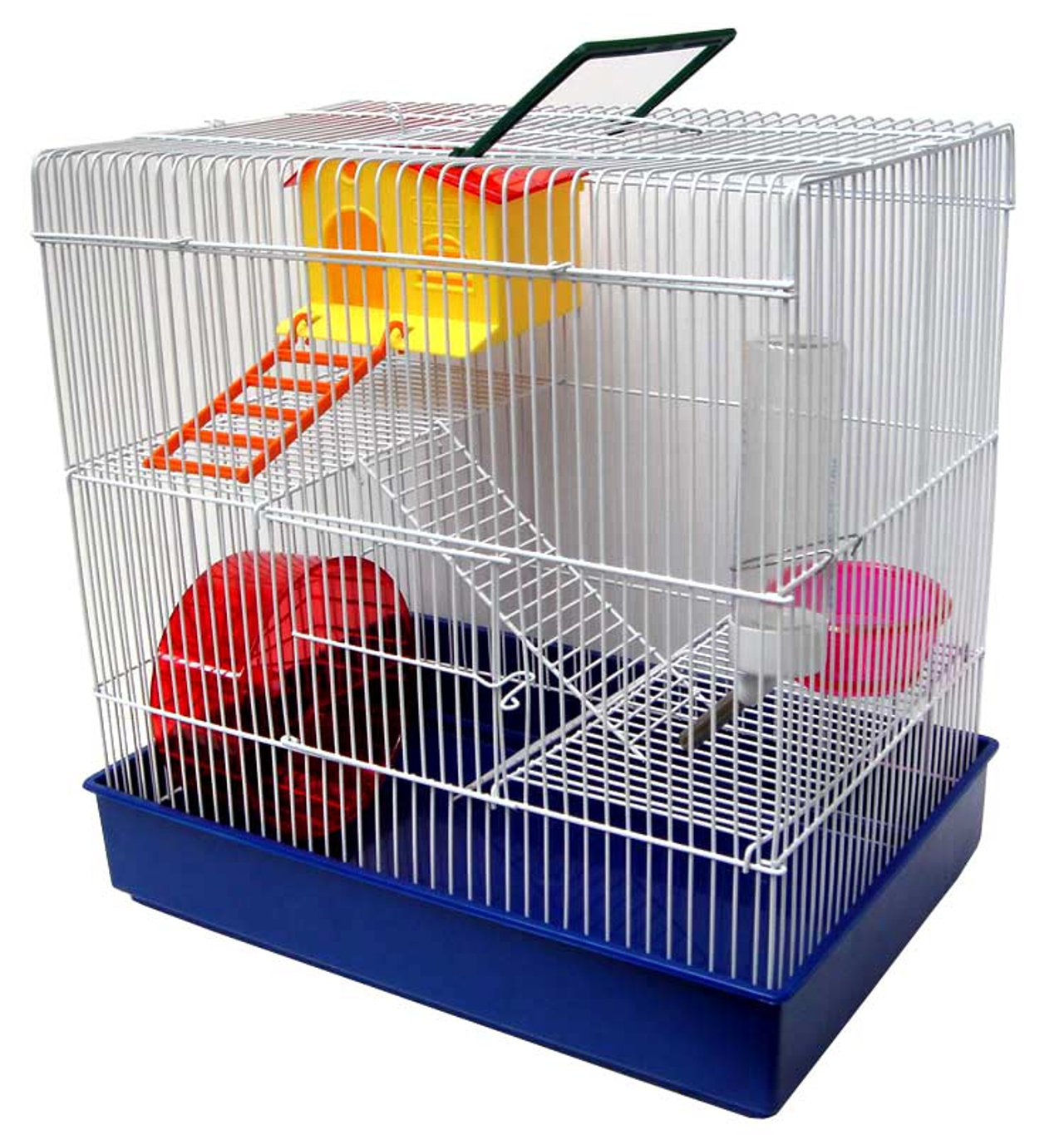 YML H820 3-Level Hamster Cage, Blue