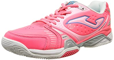 Joma Slam Lady - Zapatillas para mujer, color rosa, talla 38