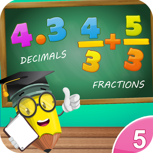 5th Grade Math. Fun Multiplication,Fraction & more (Fifth Grade Games compare prices)
