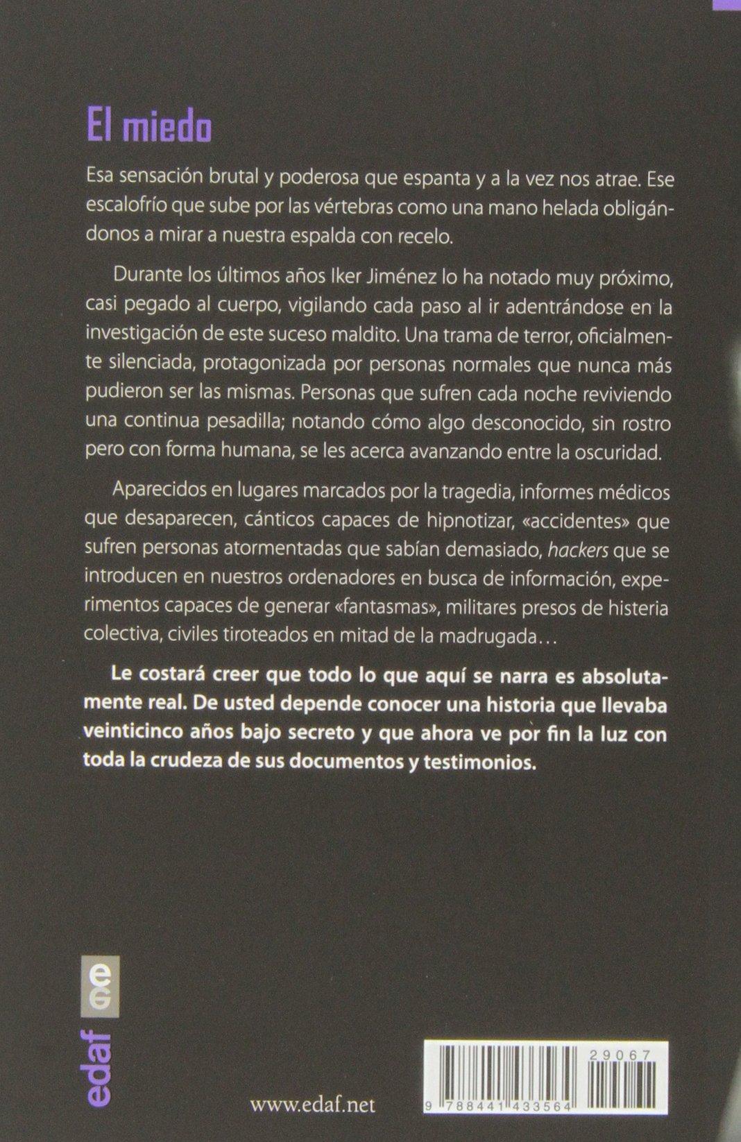 LA NOCHE DEL MIEDO (Mundo Mágico Y Heterodoxo): Amazon.es: IKER ...