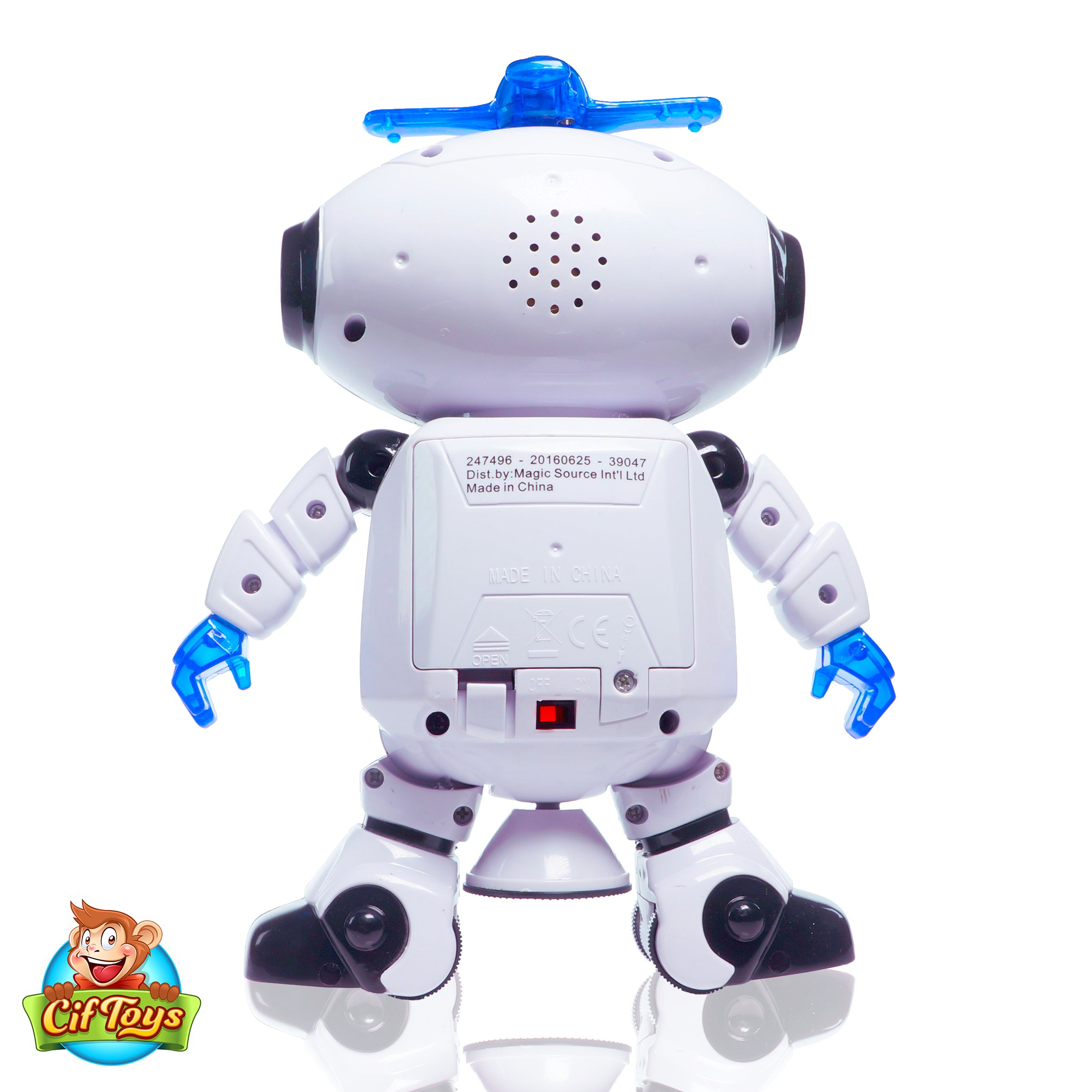 Boys Toys Electronic Walking Dancing Robot Toy - Toddler Toys - Best Gift for Boys and Girls 3 years old by CifToys (Image #6)