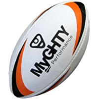 Myghty Orange Size 5 Rugby Ball