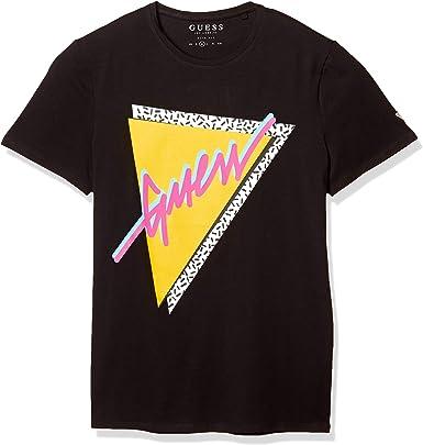 Guess M0GI45 J1300 - Camiseta para hombre: Amazon.es: Ropa y accesorios