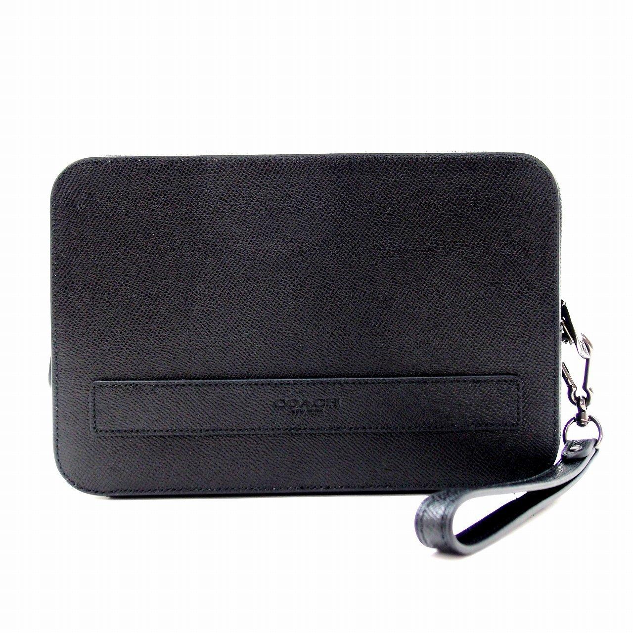 [コーチ] COACH バッグ メンズ セカンドバッグ クラッチバッグ 財布 セカンドポーチ 59117BLK [アウトレット品][平行輸入品] [並行輸入品] B07BBNQB85