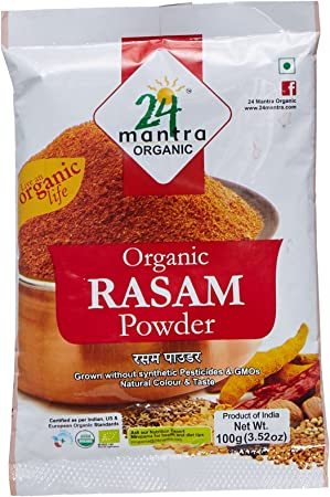 24 Mantra Organic Rasam Powder, 100g