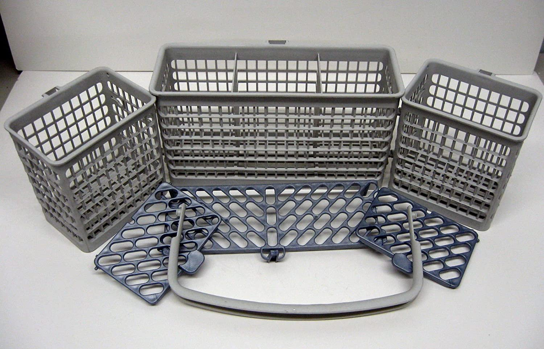 (O&HP) (WD28X10182) Genuine GE General Electric Dishwasher Silverware Utensil Basket