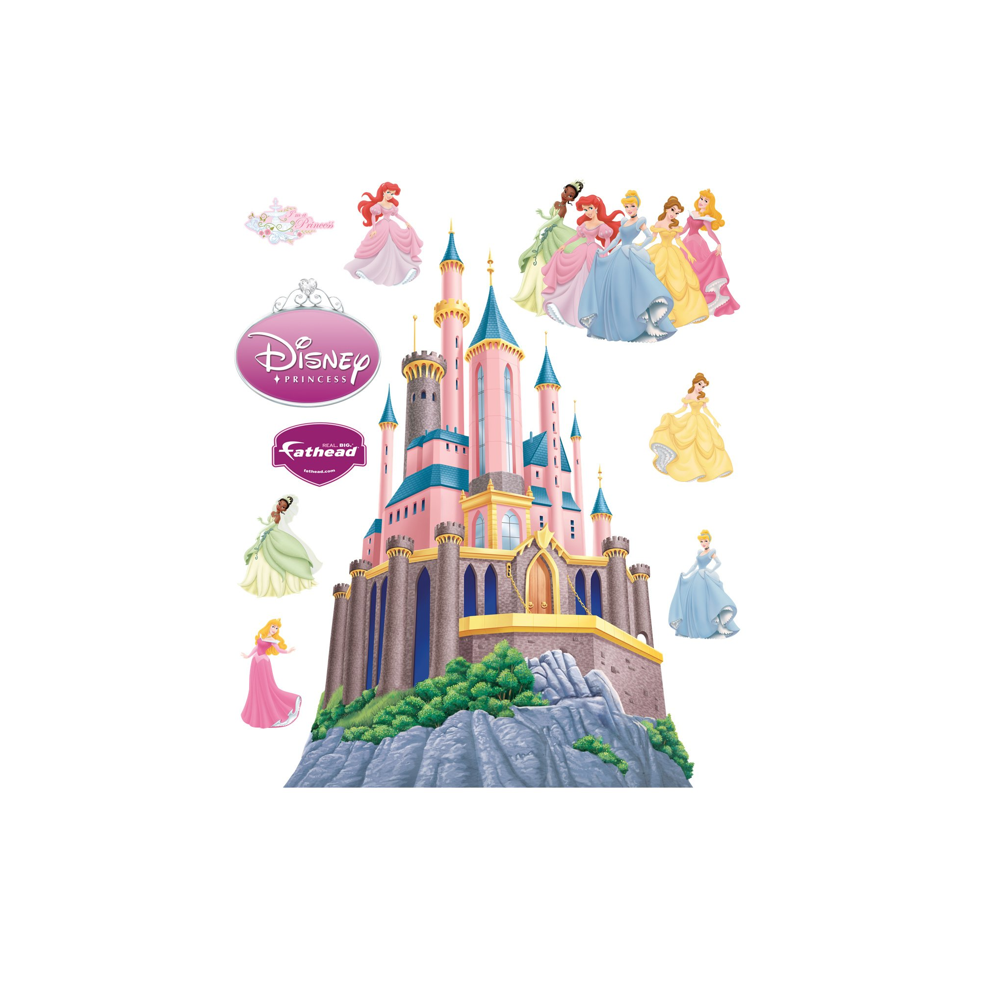 Disney Princess Castle Wall Graphic