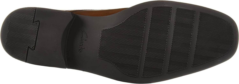 Clarks Mens Tilden Style Monk-Strap Loafer