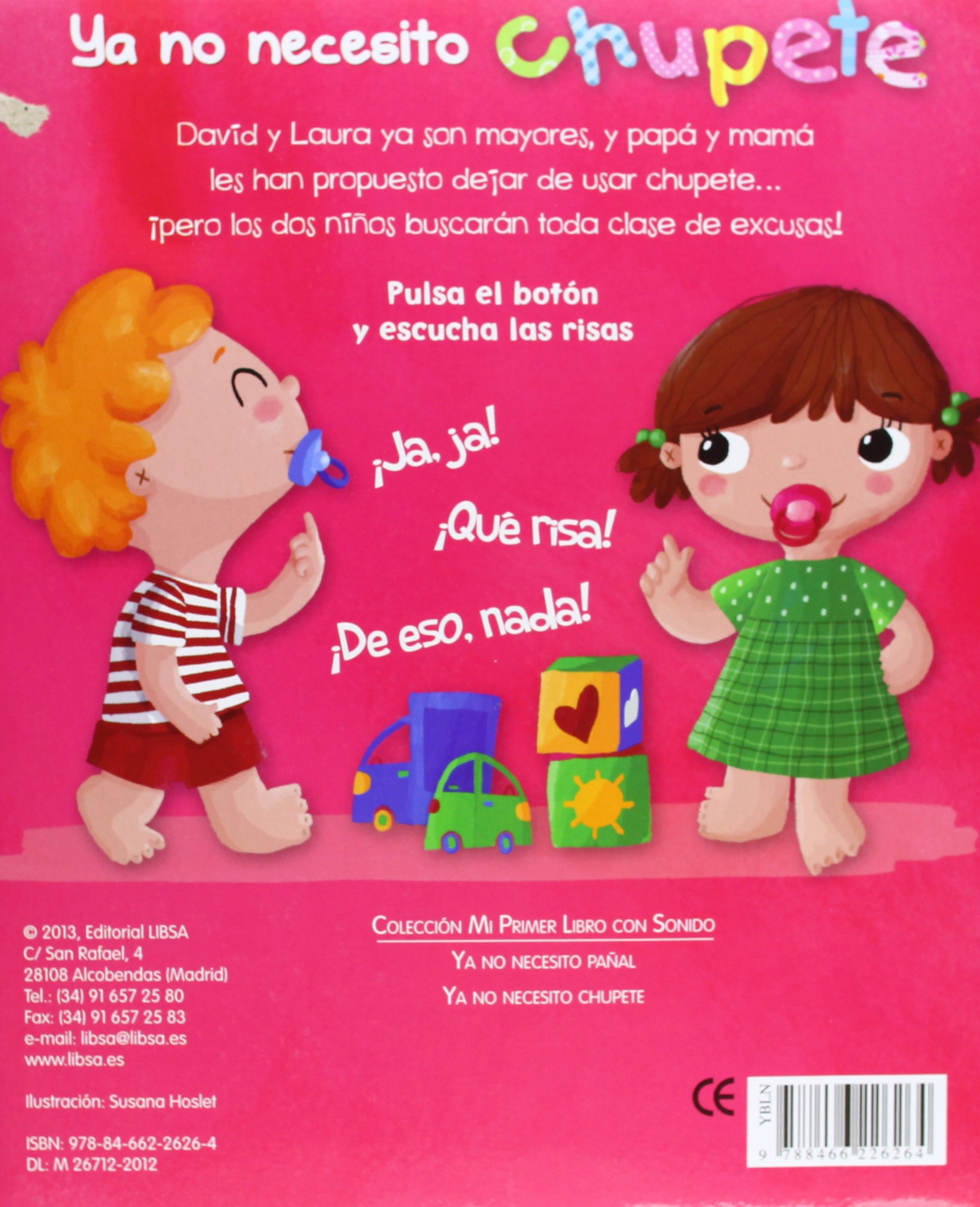 Ya no necesito chupete / I Do Not Need Pacifier (Spanish Edition ...