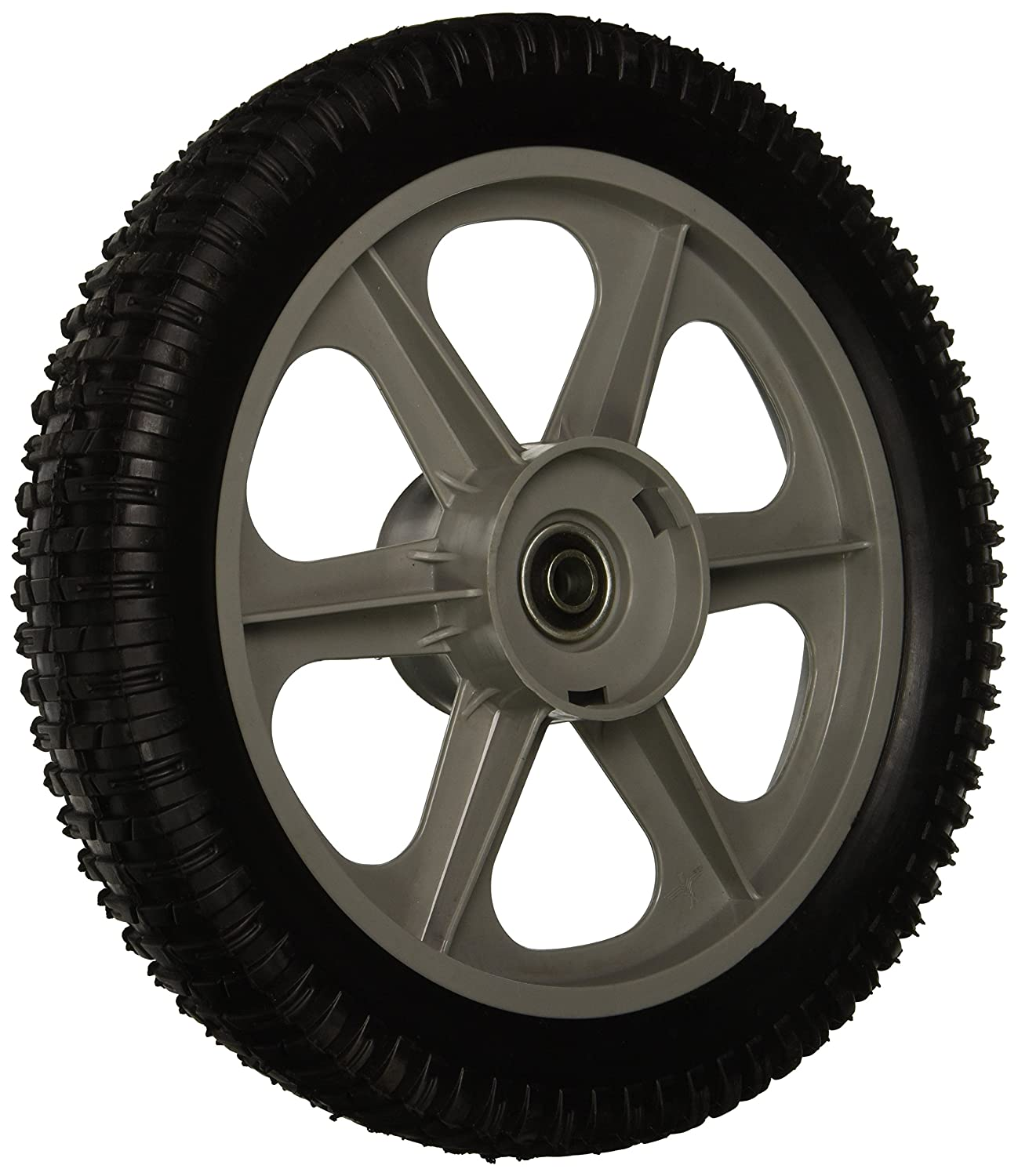 "MaxPower 335112 Plastic Spoked Wheel, 12"" X 2"""