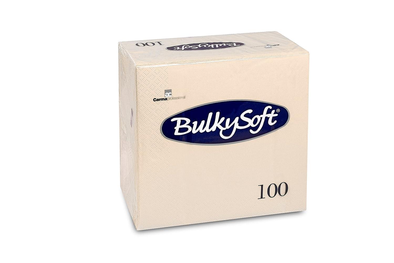 Encombrants doux BS 32025Serviettes 3plis Pliage 1/440x 40cm, crème (lot de 100) crème (lot de 100) Carrara BS-32025