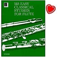 125 Easy Classical Studies para flauta, lecciones