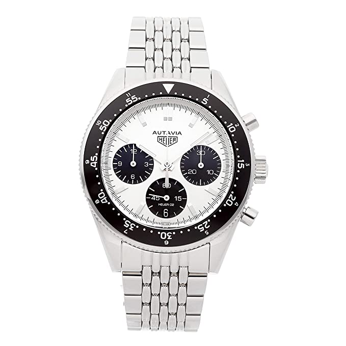 Tag Heuer Autavia Mechanical (Automatic) Silver Dial Mens Watch CBE2111.BA0687 (Certified Pre-Owned)