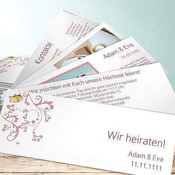 Hochzeitseinladung Selber Gestalten Unser Tag 200 Karten
