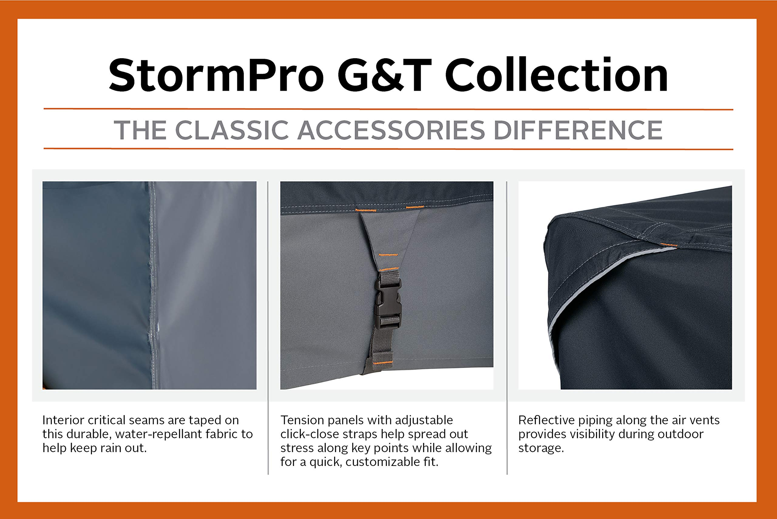 Classic Accessories StormPro RainProof Heavy Duty Generator Cover, XX-Large by Classic Accessories (Image #5)