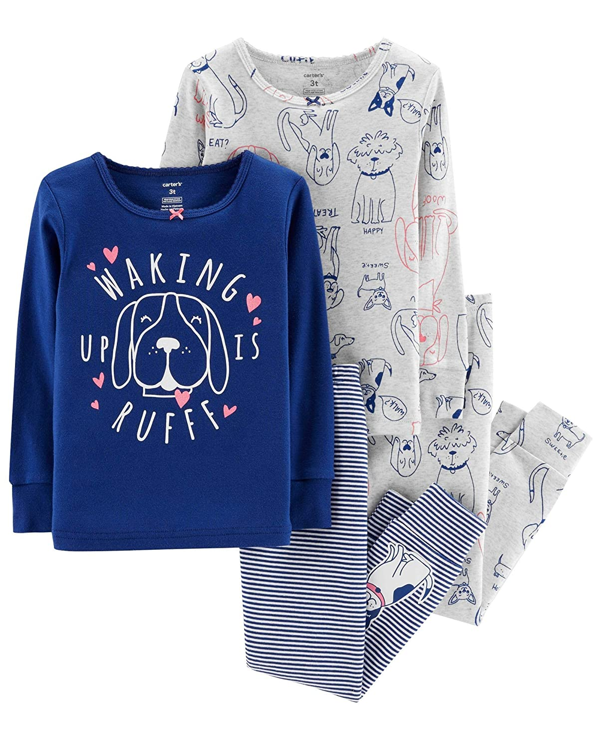 Carters Baby Girls 4 Pc Cotton 331g170