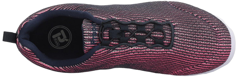 Propét Women's TravelActiv Xpress Sneaker B071FTXWVP 9 2E US|Navy/Pink