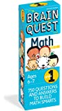 Brain Quest 1st Grade Math Q&A Cards: 750 Questions and Answers to Challenge the Mind. Curriculum-based! Teacher…
