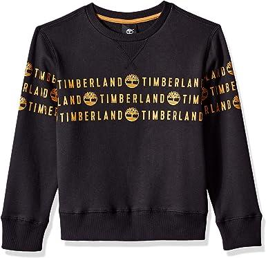 Timberland Big Boys Signature Logo Fleece Joggers
