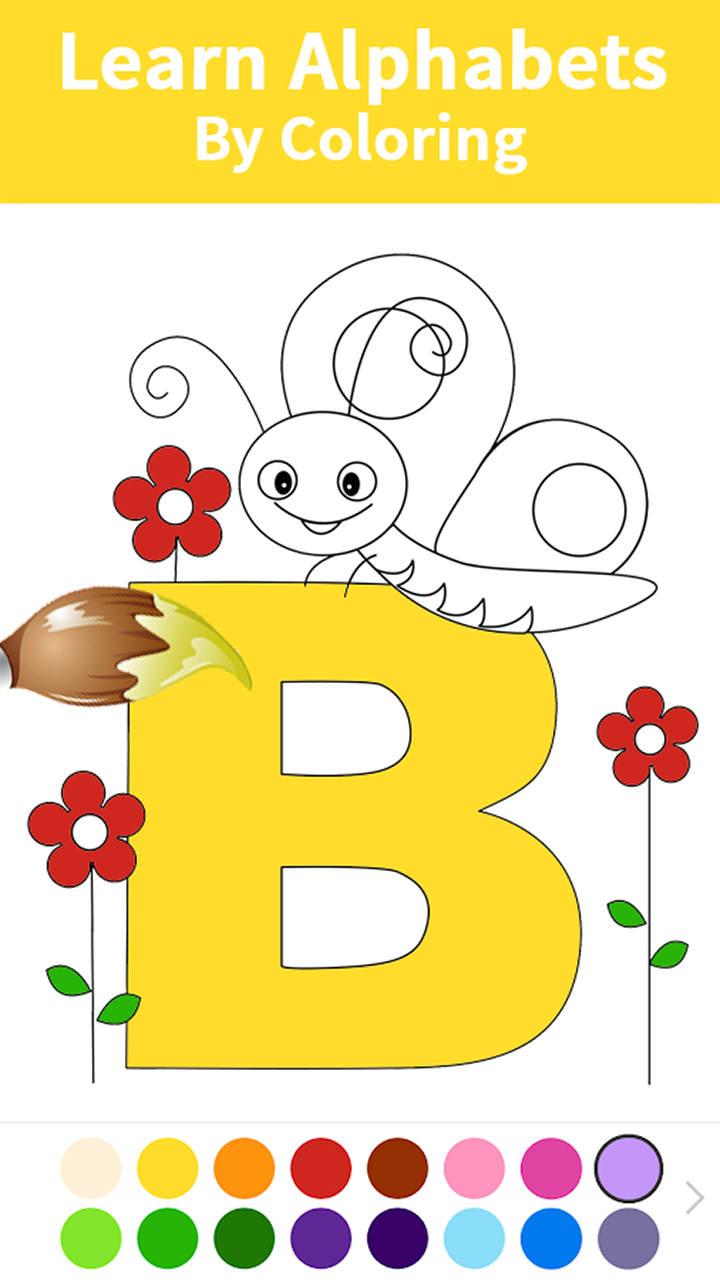 Amazon.com: Alphabets and Numbers Coloring Book For Kids ...