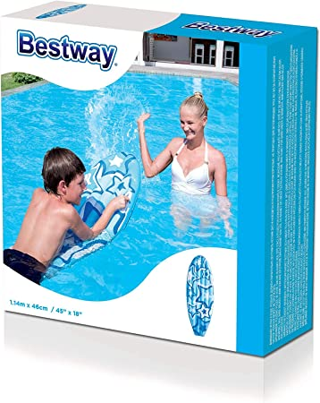 Bestway 42046 - Tabla Surf Hinchable Infantil 114x46 cm: Amazon.es ...