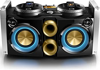 Philips FWP3200D Mini Hi-Fi System with DJ Mixer