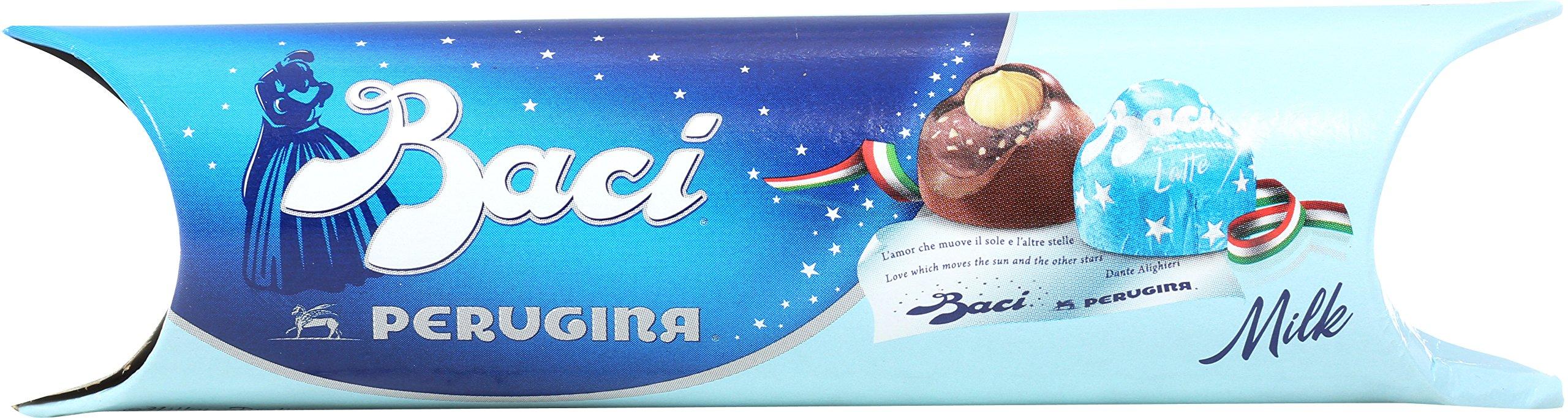Perugina Baci 3-Piece Tube Display, Milk, 1.51 Ounce (Pack of 14)