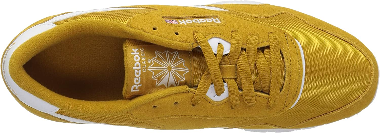 Reebok Men's Classic Nylon Walking Shoe, sf Wild KhakiWhite