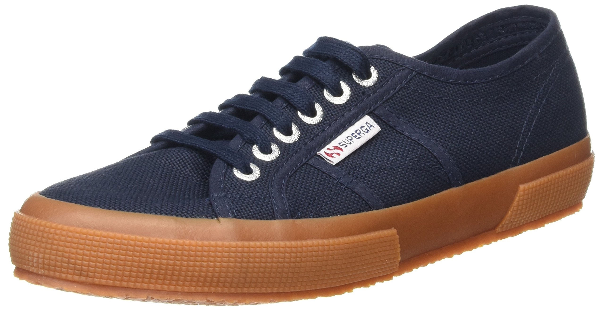 Superga 2750 Cotu Classic, Men's Low-Top, Blue (Navy Gum), 9.5 UK (44 EU EU)