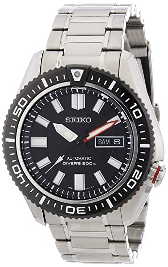 SEIKO SKZ325K1 - Reloj de Caballero movimiento automático con brazalete metálico: Seiko: Amazon.es: Relojes