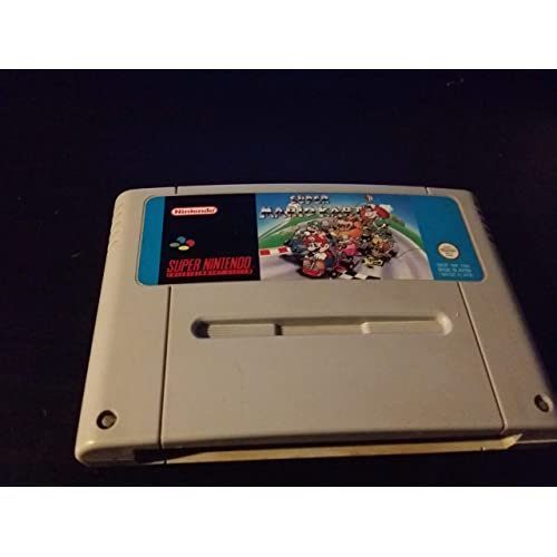 Super Mario Kart Nintendo SNES PAL