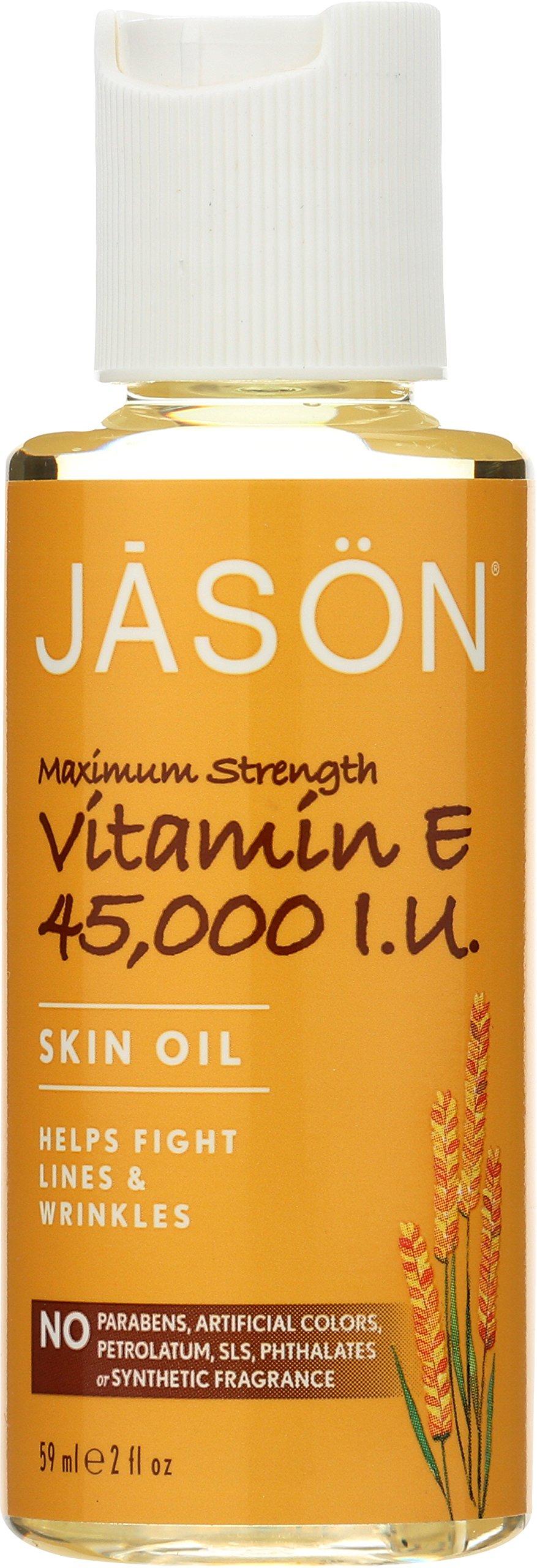 JASON Vitamin E 45,000 IU Maximum Strength Oil, 2 Ounce