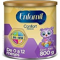 Fórmula Láctea Infantil con Proteína Parcialmente Hidrolizada, Enfamil Confort Premium para Lactantes de 0 a 12 meses, Lata de 800 gramos