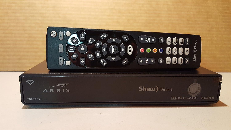 Shaw Direct hddsr 800 Receiver B07565LYHB