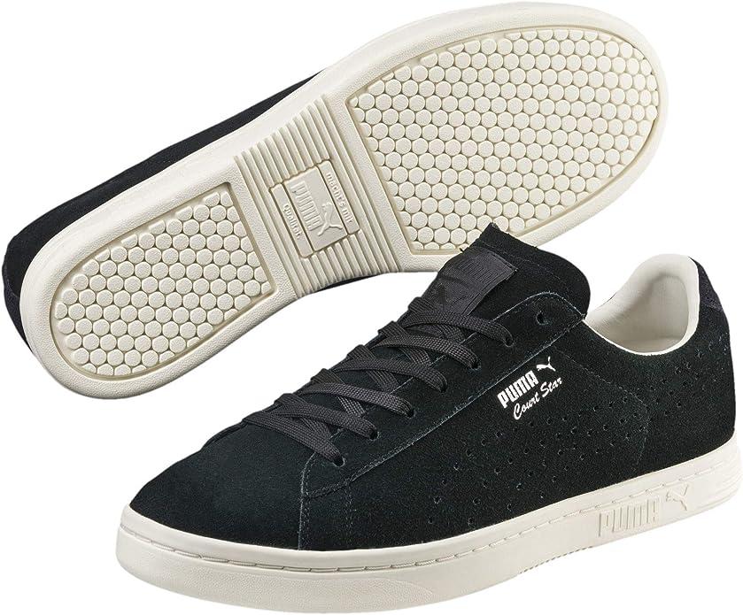 Puma Court Star Sneakers Damen Herren Unisex Schwarz