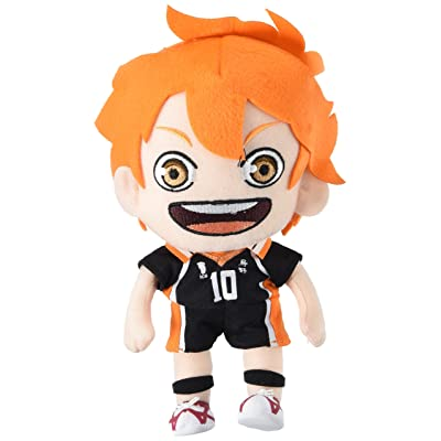 "GE Animation Great Eastern 52940 Haikyuu!! Shoyo Hinata Stuffed Plush, 9"": Toys & Games"