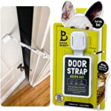 Door Buddy Adjustable Door Strap and Latch - Grey. Dog Proof Litter Box The Easy Way. No Need for Pet Gates or Interior…
