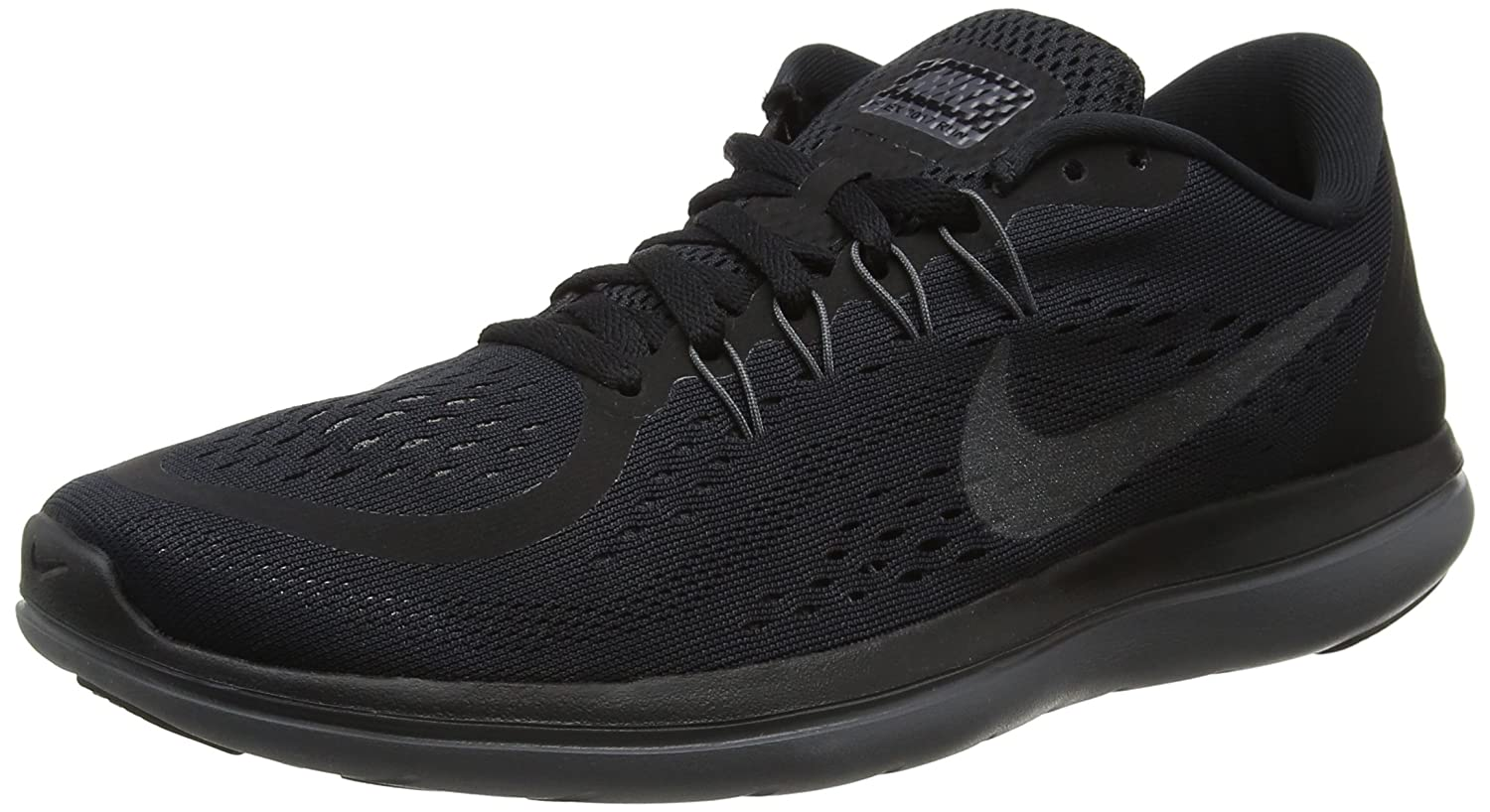 Amazon.com | Nike Womens Flex 2017 Running Shoes Black/Metallic Hematite-Anthracite-Dark Grey 6 | Road Running