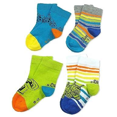 0d4c29e51b6a9 s. Oliver Chaussettes enfants, bébé garçon, 4 Pack, 4 paires de chaussettes