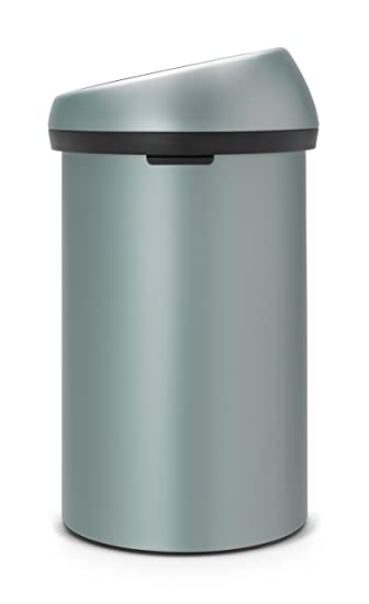 brabantia xxl m lleimer touch bin 60 liter abfalleimer neuheit abfallsammler. Black Bedroom Furniture Sets. Home Design Ideas