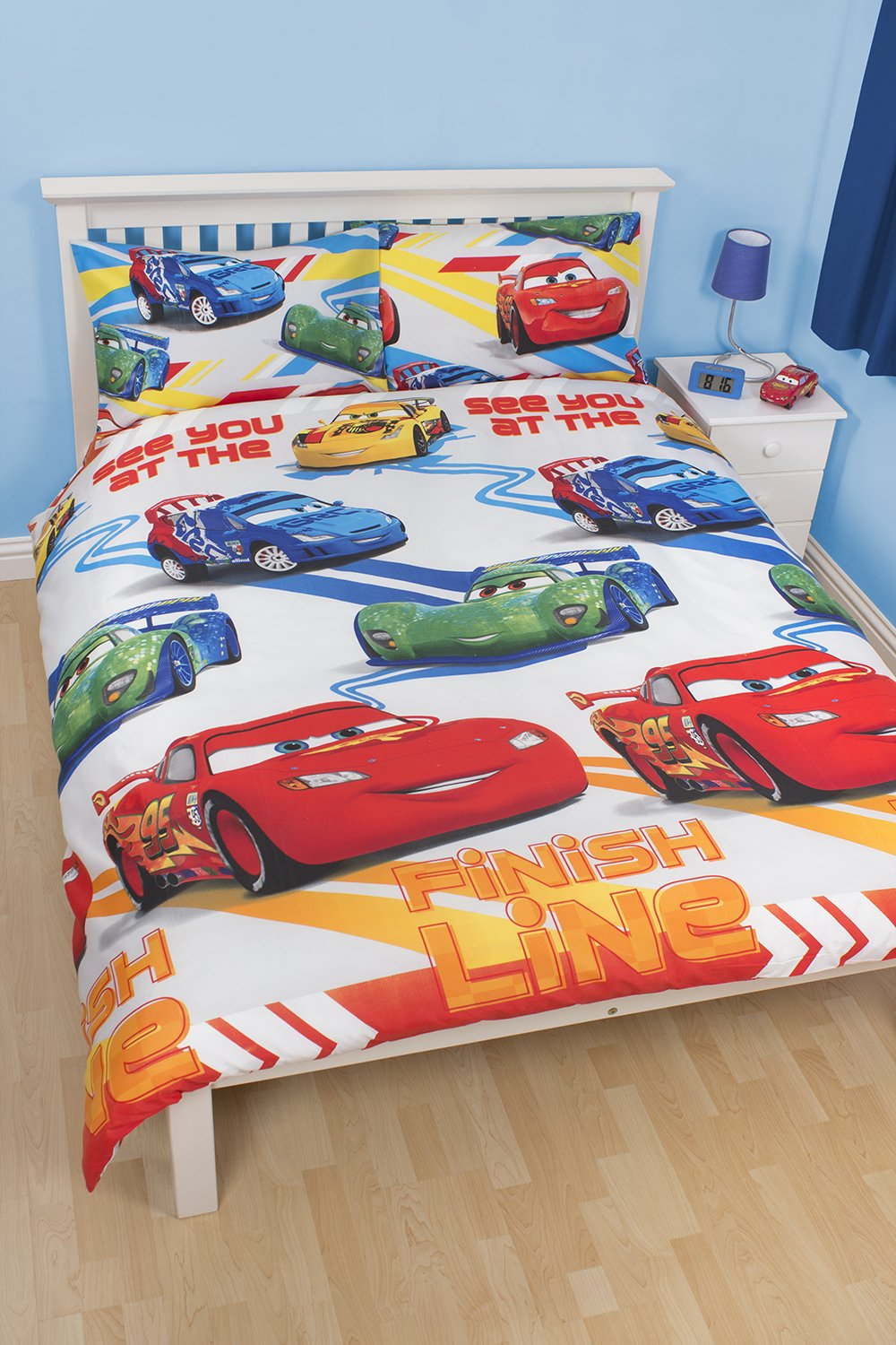 Character World Disney Cars Speed Double Rotary Duvet Set, Multi-Color:  Amazon.co.uk: Kitchen & Home