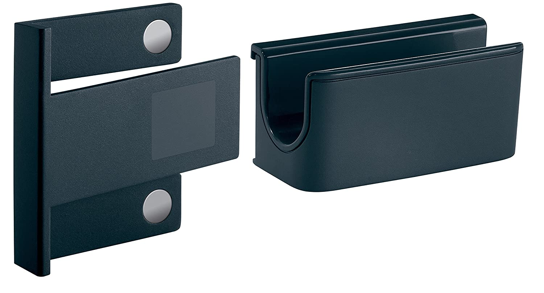 para pizarras de cristal magn/éticas SIGEL GL800 Soporte para rotuladores color antracita