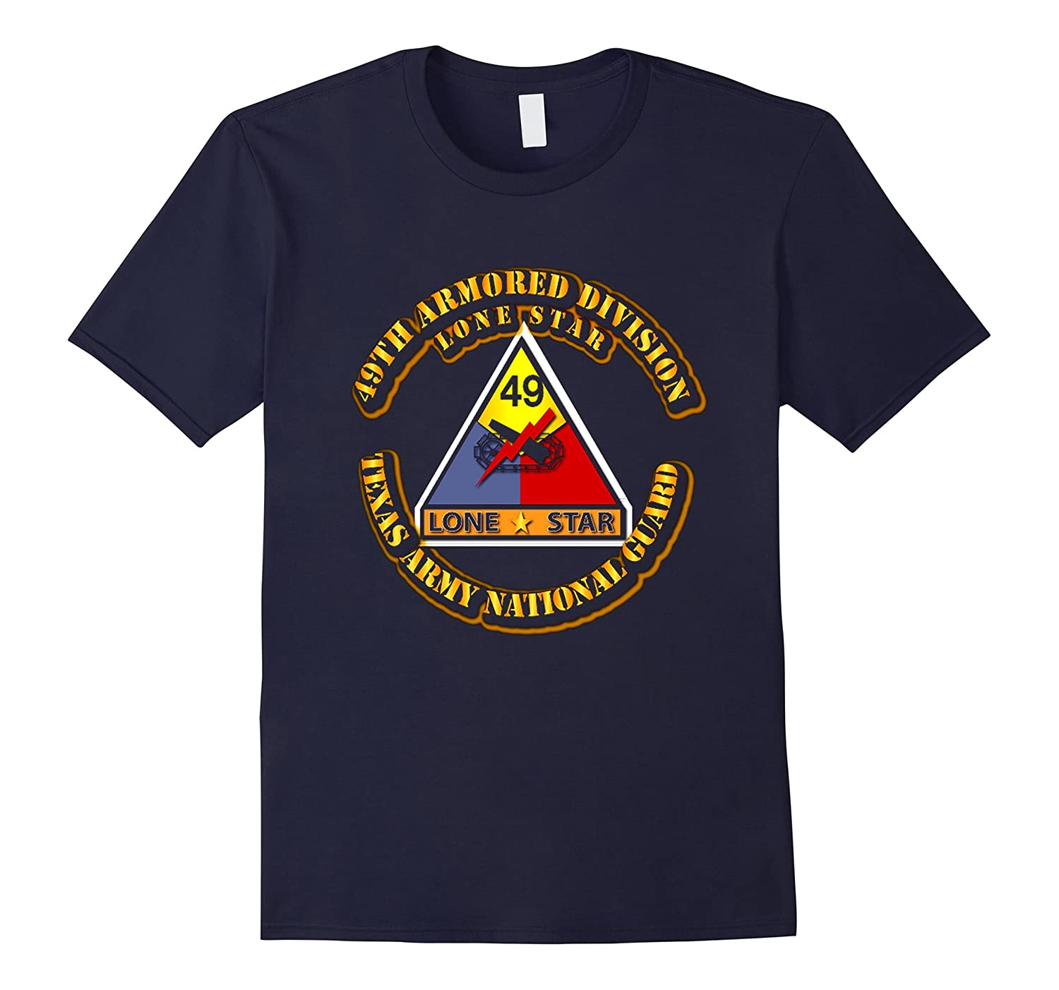 49th Armored Division - Texas Army National Guard Tshirt-TH