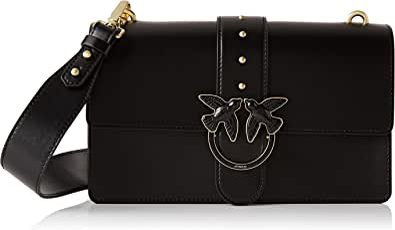 Pinko Love Abbraccio 1, Bolsa de mensajero para Mujer, 7.5x16.5x27 centimeters (W x H x L)