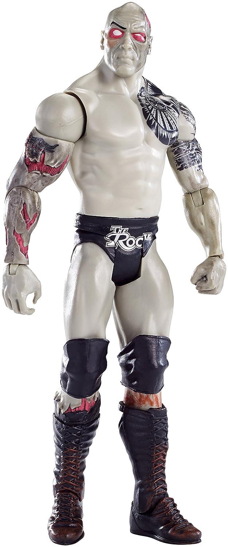 tiempo libre Figura Titan, The Rock Rock Rock de la WWE, Edición Zombie - Mattel DNY66  ahorra 50% -75% de descuento