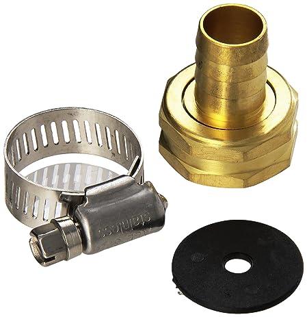 MINTCRAFT GB958F3L Female End Repair Brass Hose, 5/8 To 3/4