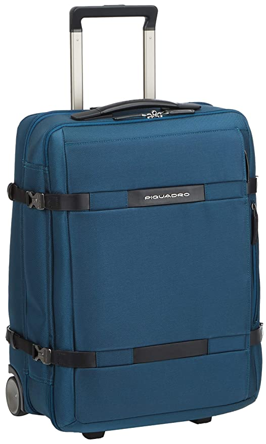 Trolley Valigeria it Blu Cm Piquadro 51 Amazon Bv2960m2blu ac7101qW5