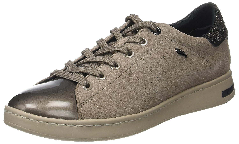 Geox D Jaysen a, Zapatillas para Mujer 37 EU|Marrón (Taupe/Mud)