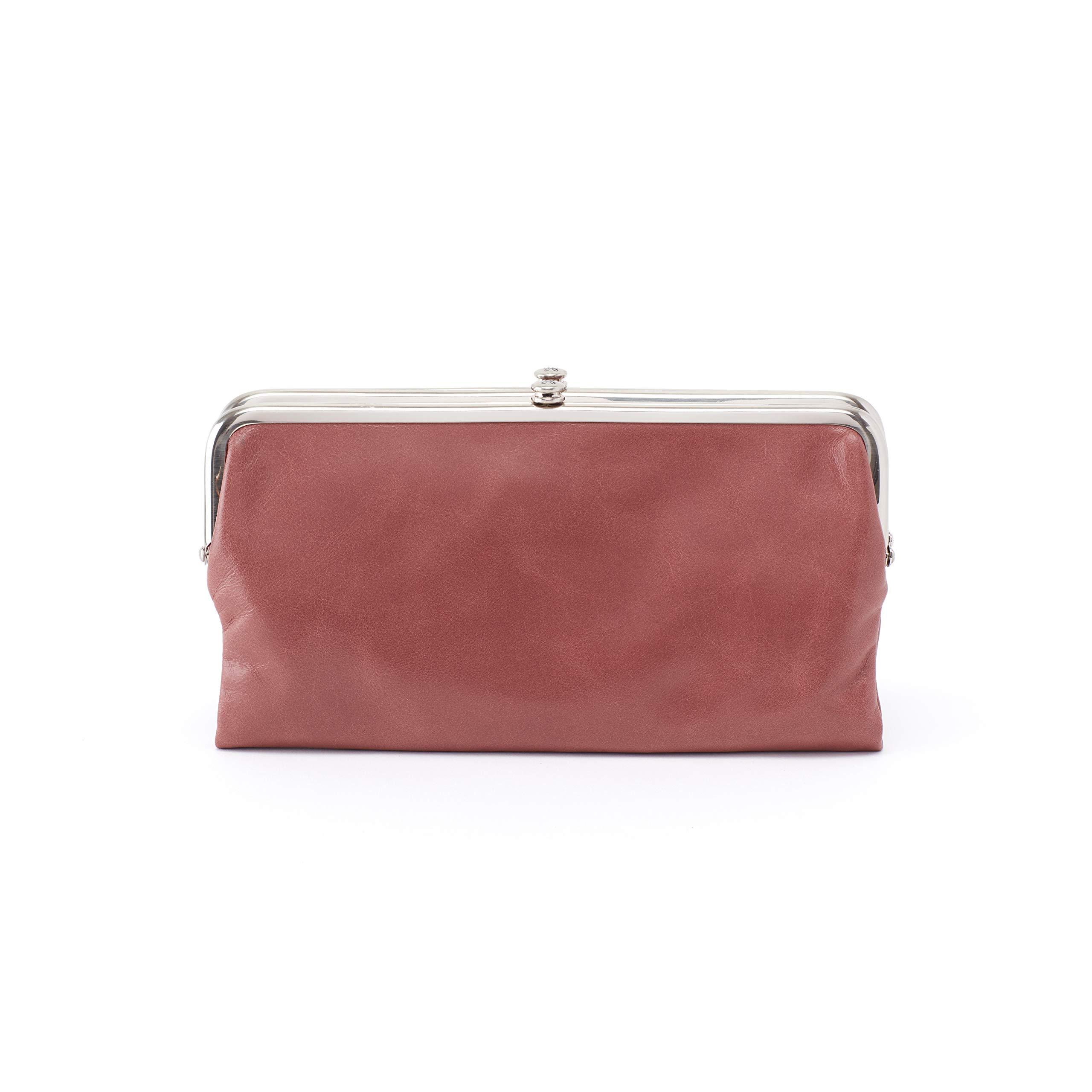 Hobo Womens Lauren Vintage Wallet Clutch Purse (Burnished Rose)